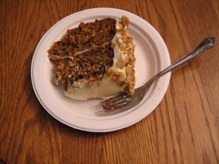 Best Carrot Cake on plate