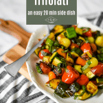 zucchini trifolati pin image