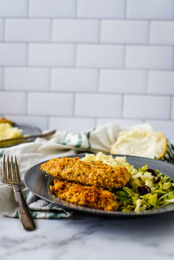 walnut crusted chicken tenders