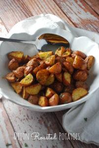 Dijon Roasted Baby Potatoes