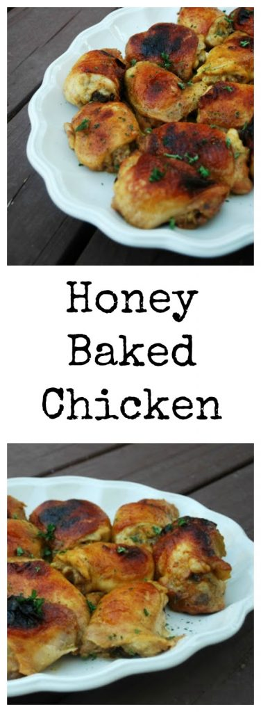 Easy Honey Baked Chicken