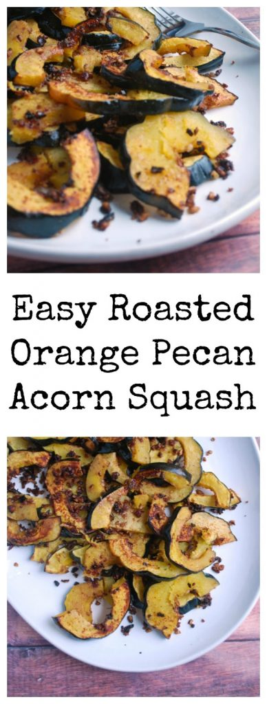 20 minute roasted acorn squash recipe