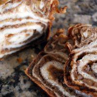 slices of Povitica dessert bread