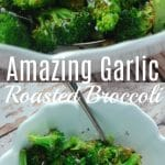 Amazing roasted broccoli