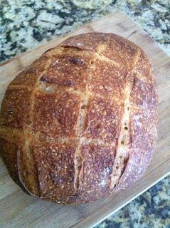 vermont sourdough bread loaf