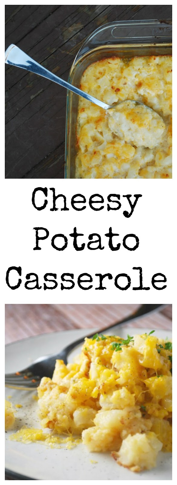 This cheesy potato casserole is the perfect side dish for your holiday menu! Easy, delicious, and so cheesy! You will be wishing for leftovers! Perfect Holiday Cheesy Potato Casserole, Holiday Side Dish, Side Dish recipe, Christmas Recipe, Thanksgiving Side Dish
