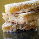Earl Grey Lemon Bar