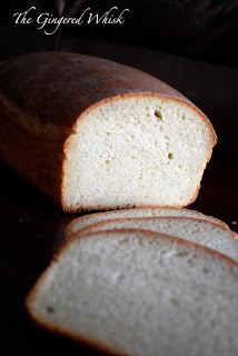 sourdough bread with slices in front