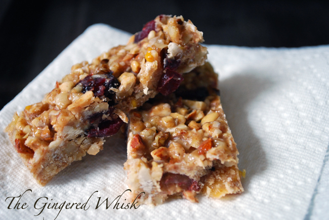 Cranberry Mango Nut Bar Recipe - Easy Snack recipe