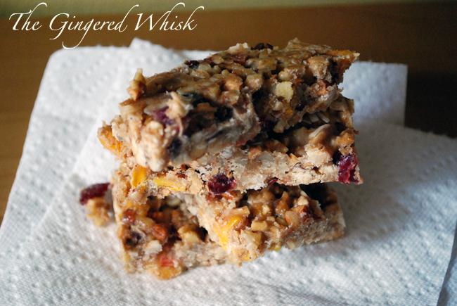cranberry mango nut bar recipe - easy no bake energy bar recipe