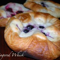 Danish Sourdough Pastry with Cream Cheese Filling
