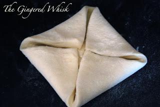how to fold sourdough cream cheese danish