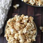 Honey Peanut Butter Popcorn