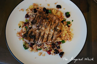 Pork-Chops-with-Cherry-Couscous-1