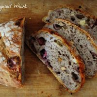 Strawberry Almond and Camembert Sourdough Loaf