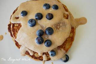 Weight Watchers compliant sweet potato pancakes