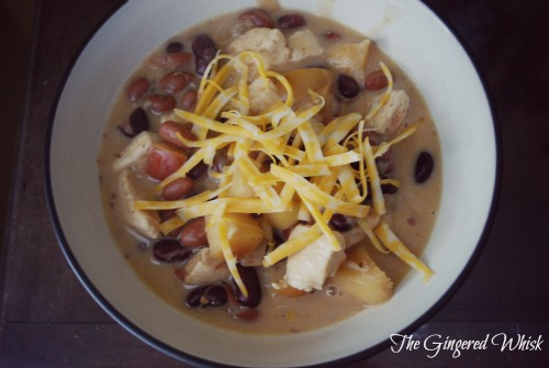 Apple Chicken Chili - The Gingered Whisk