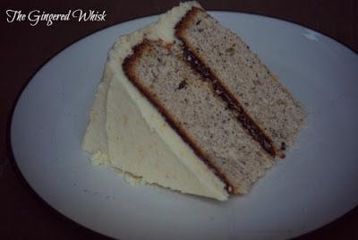 Earl Grey Cake with Orange Blossom Buttercream - The Gingered Whisk