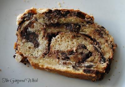 Swirly, Chocolate filled bread - Amazing babka!