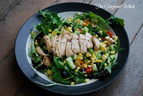 Easy Dinner Salad for summer