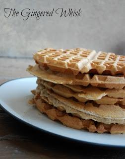 Apple Pie Sourdough Waffles