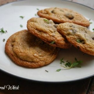 Sea Salt and Thyme Chocolate Chip Cookies