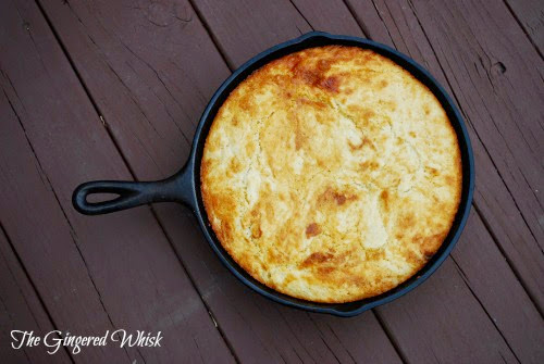 Sourdough Cornbread (The Gingered Whisk)