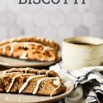 sourdough biscotti beside coffee cup