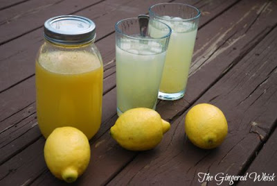 Easy DIY Lemonade (The Gingered Whisk)