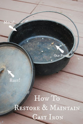 How to Restore & Maintain Cast Iron (The Gingered Whisk)