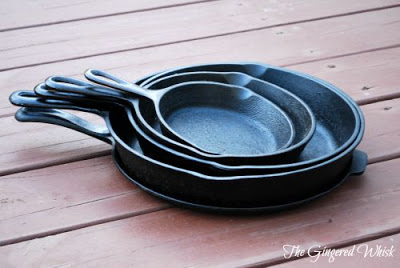 How to Season Your Cast Iron in 5 Easy Steps! Care and Maintenance Tips on Cast Iron (The Gingered Whisk)