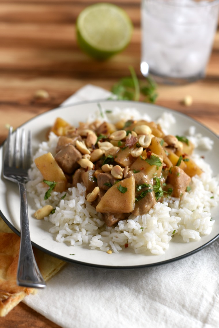 30 minute massaman curry recipe