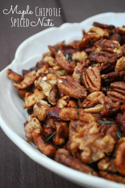 mixed roasted nuts in bowl