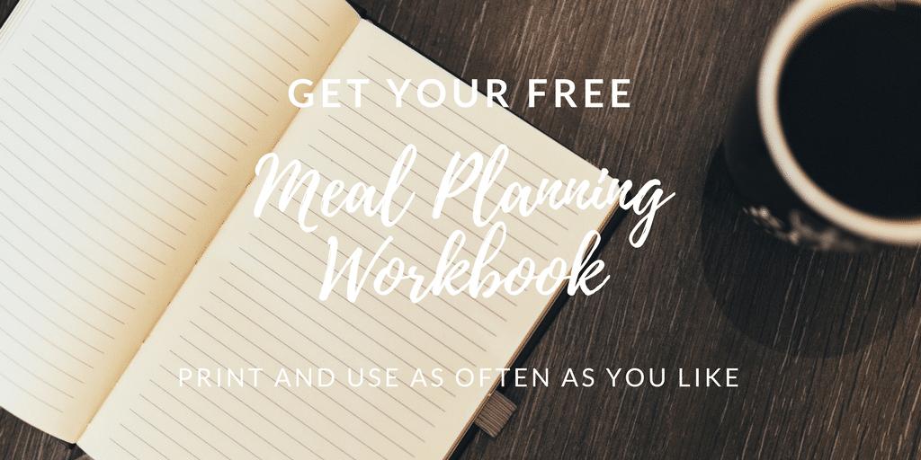Printable Meal Planning Workbook