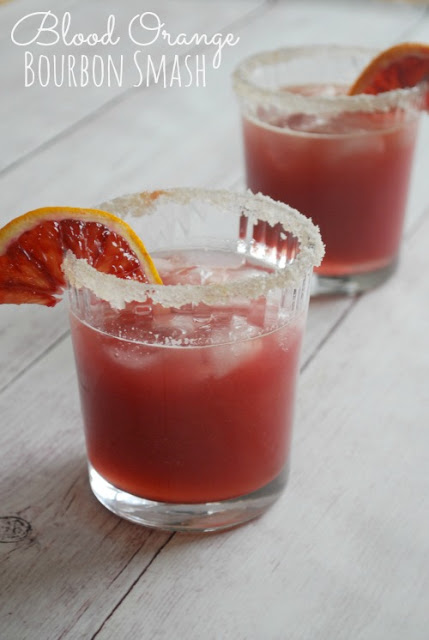 Easy blood orange cocktail! tastes so awesome, so fresh!