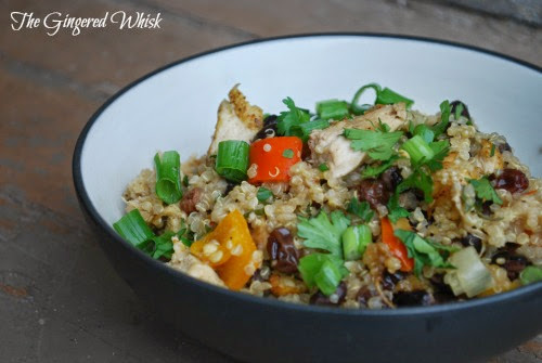 Thai Chicken and Quinoa Casserole is a great weeknight meal full of flavor the whole family will love!