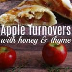 Apple Honey Thyme Turnovers
