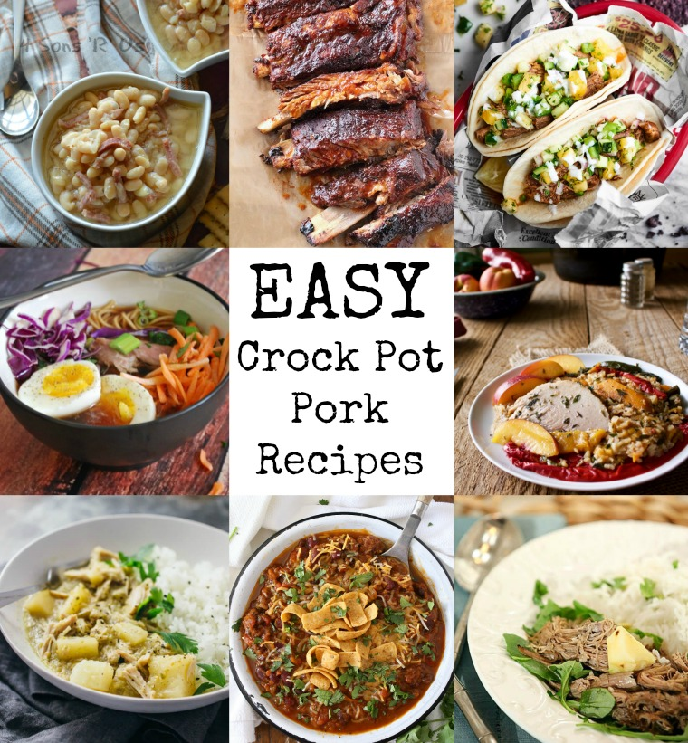 The BEST Weeknight Crock Pot Recipes, Just Dump And Go
