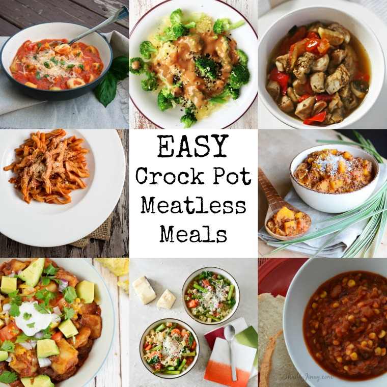 easy weeknight meatless meals for the slow cooker