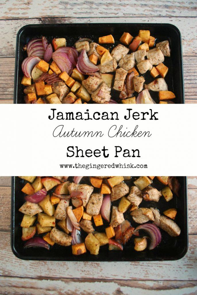 Jamaican Jerk Sheet Pan Dinner
