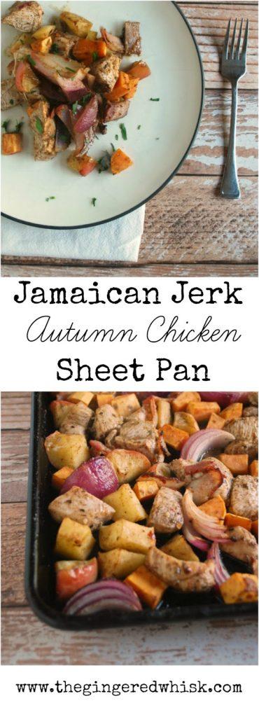 Autumn Jamaican Jerk Seasoned Chicken Bake