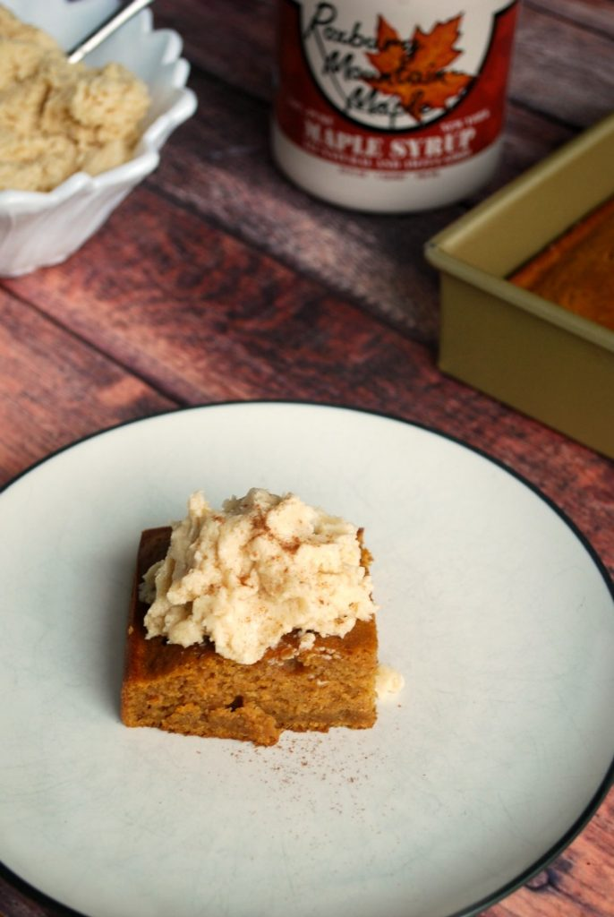 Pumpkin Maple Gingerbread Cake Recipe