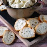 Easy Holiday Appetizer with Stella cheese dip