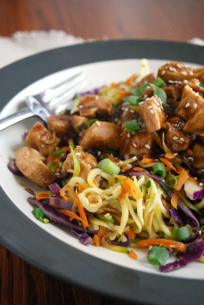 Thai Chicken Zoodles
