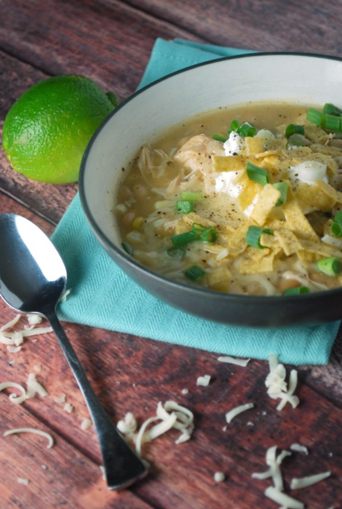 Slow Cooker Easy Chicken Chili