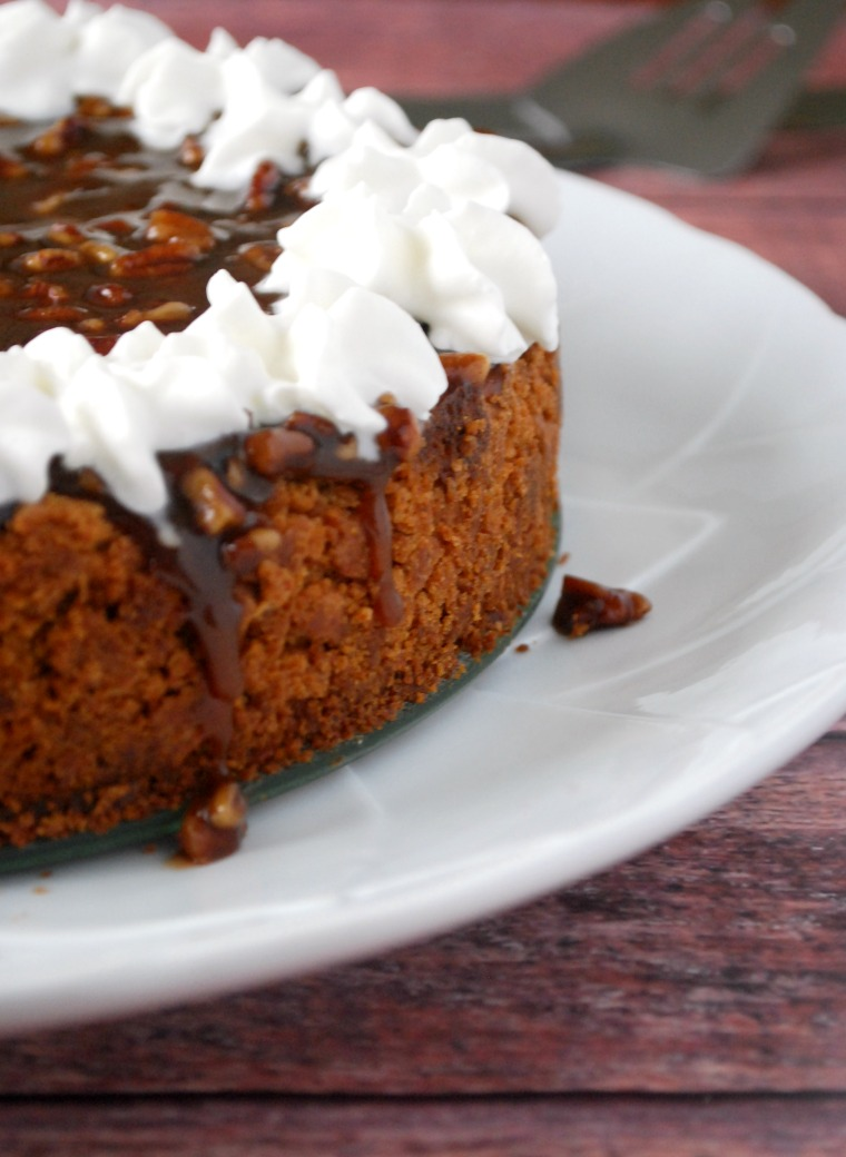 Easy Pumpkin Cheesecake