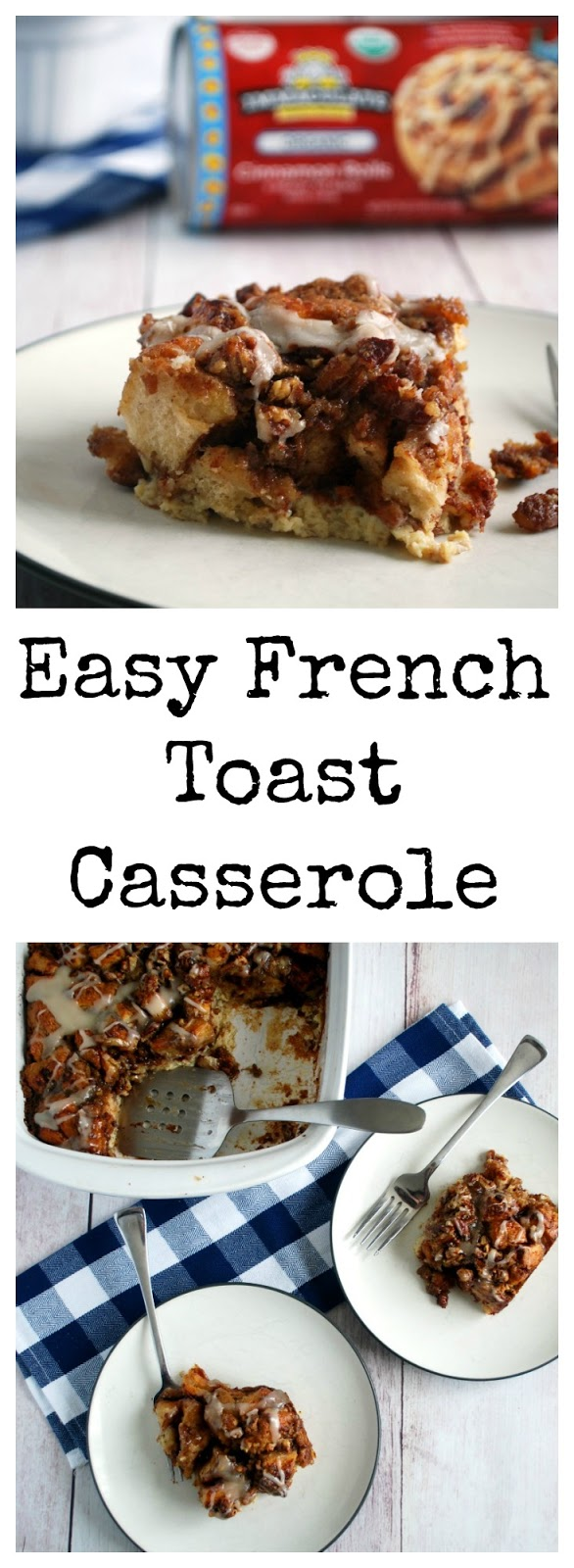 This decadent yet easy French Toast Casserole is a lovely way to breakfast on a special holiday. It's custardy, filled with cinnamon & toasted pecans & so easy!