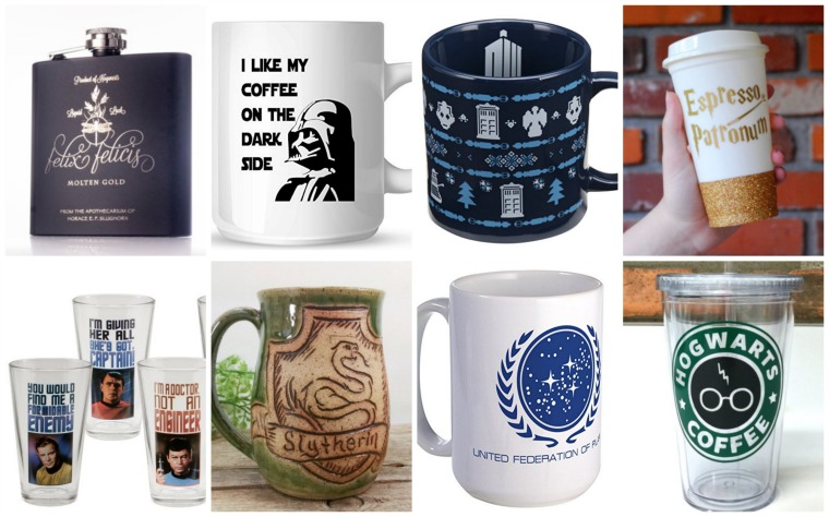 Geeky Glassware - Gits for Geeks