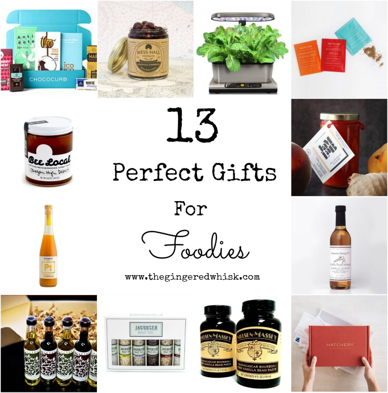 Perfect Gifts for Foodies