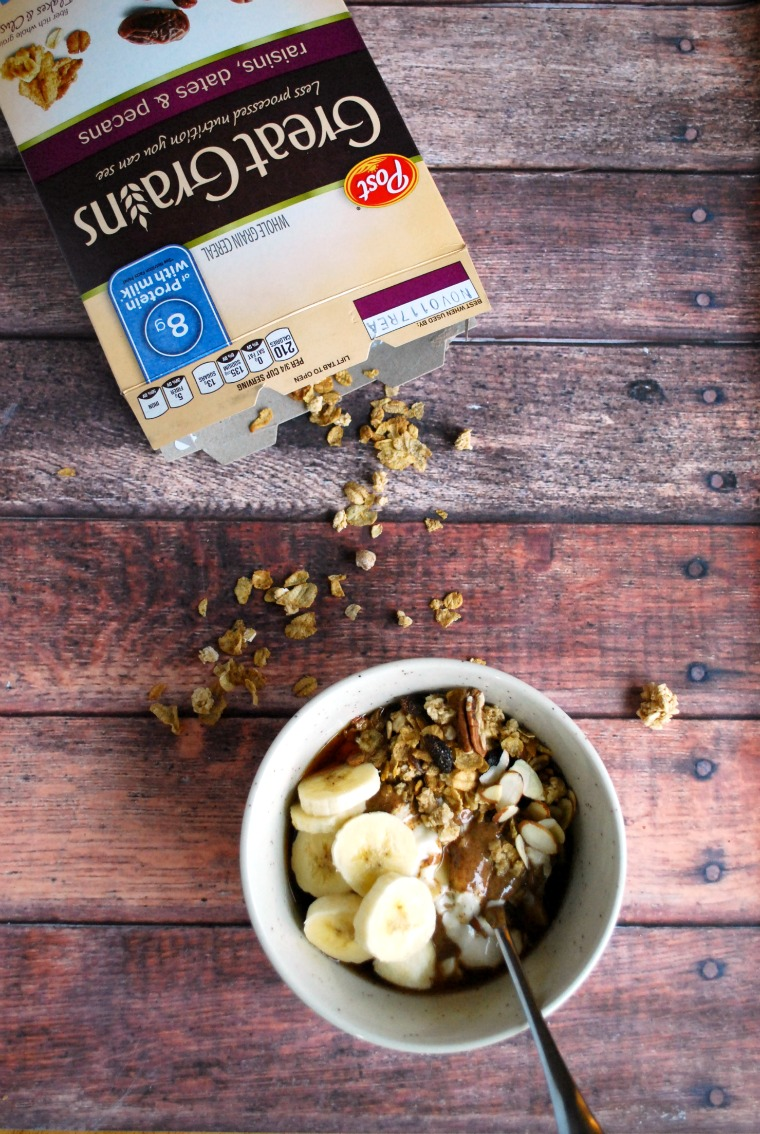 Post Great Grains make for a tasty and easy yogurt parfait!